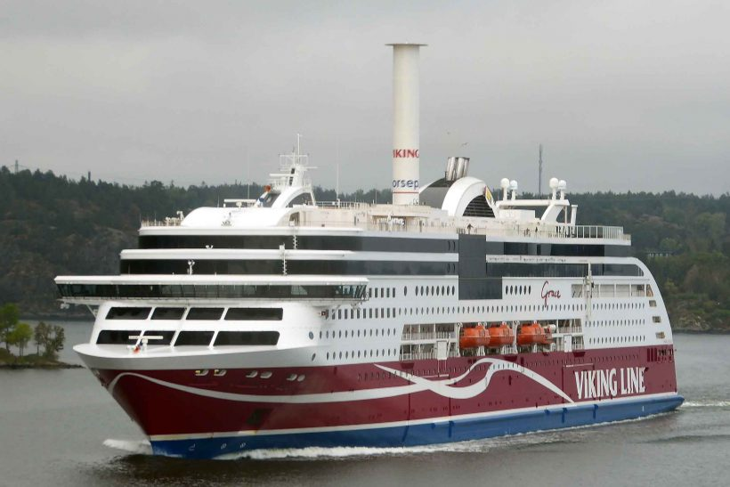 Building of Viking Line's new passenger vessel starts