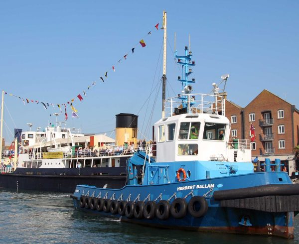 Trade booming at the Port of Poole