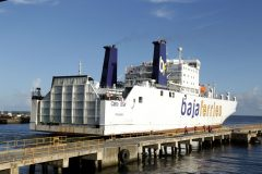 Baja Ferries leases ro-ro to Trinidad & Tobago