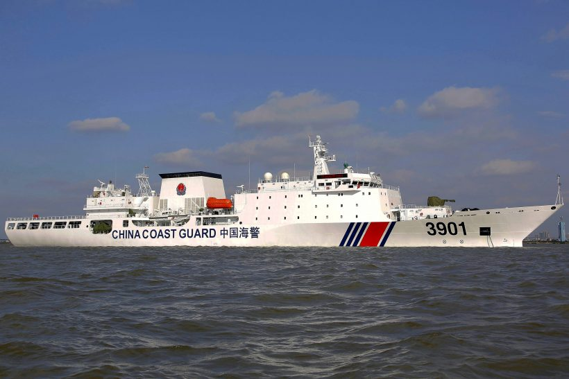 China moves administration of its Coast Guard