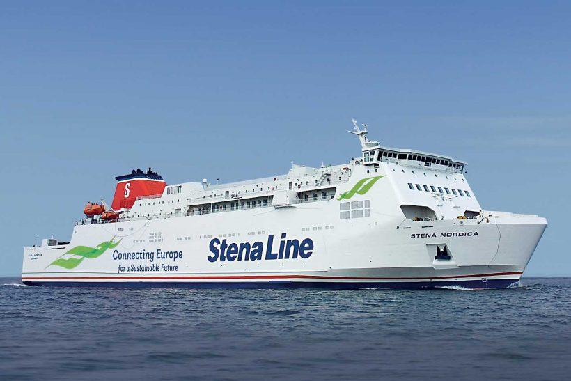 Stena Nordica enters service on Karlskrona-Gdynia