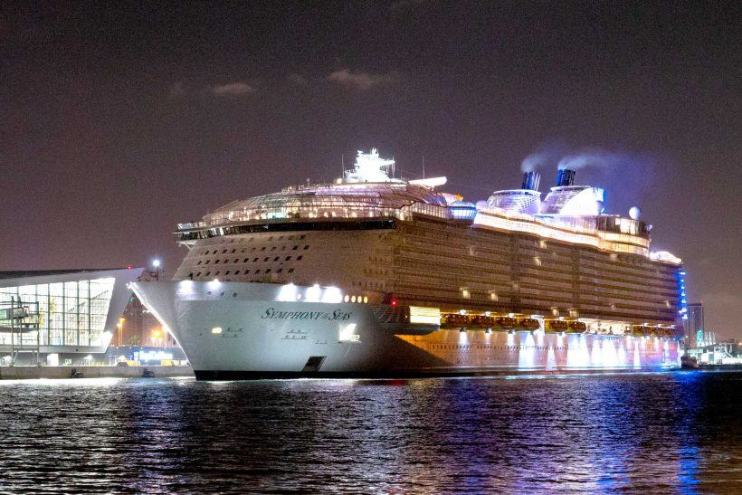Royal Caribbean International's Symphony of the Seas makes US debut