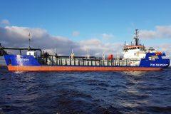Hopper dredger Beloe More goes to Siberian harbour