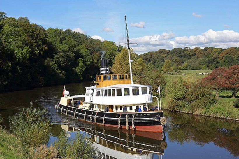 Future of historic canal ship Daniel Adamson safeguarded by Peel Ports