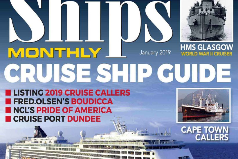 Ships Monthly January 2019 issue out now