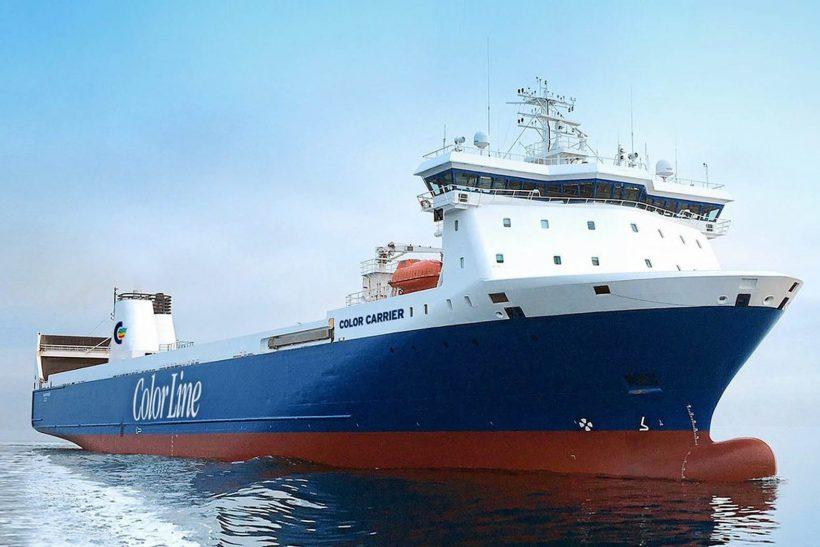 Color Line expands Kiel–Oslo cargo capacity