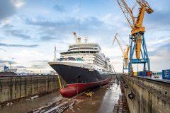 Damen Shiprepair Brest completes refit of  Cunard's Queen Elizabeth