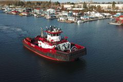 Jensen Maritime Provides Design for Shaver Transportation's New Tugboat