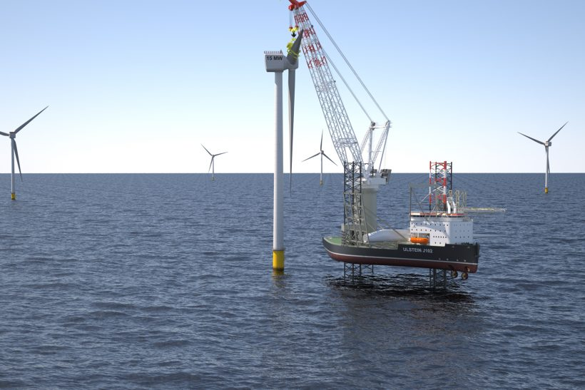 Jack-up vessels strengthen Ulstein's offshore wind service