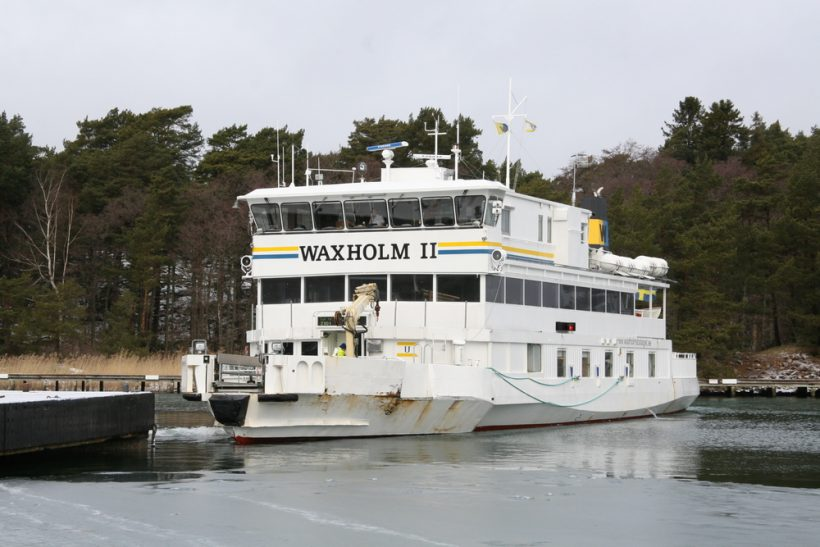 Damen contract for lifetime extension of Stockholm ferry