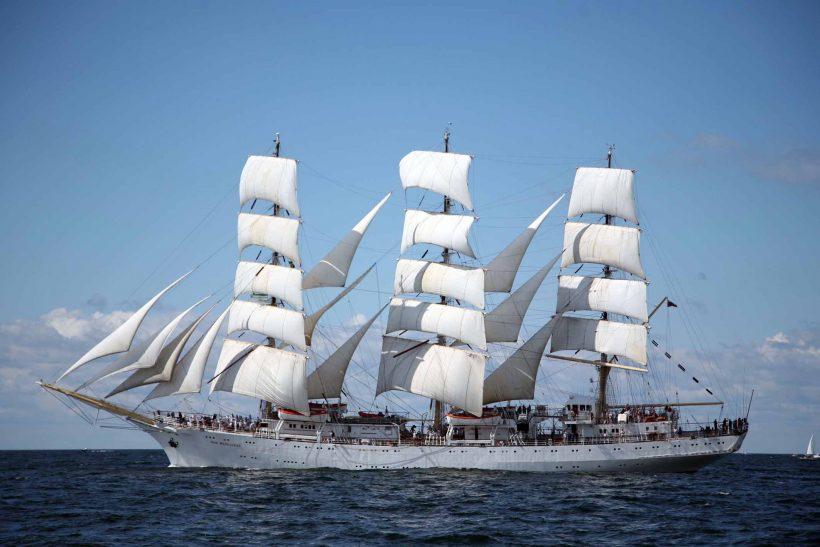 Polish tall ship on world tour to visit London