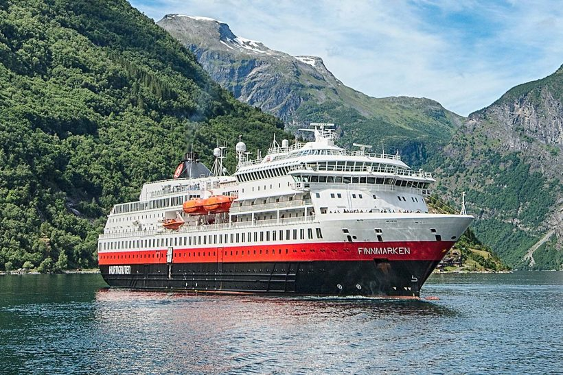 Hurtigruten's Finnmarken going for total makeover
