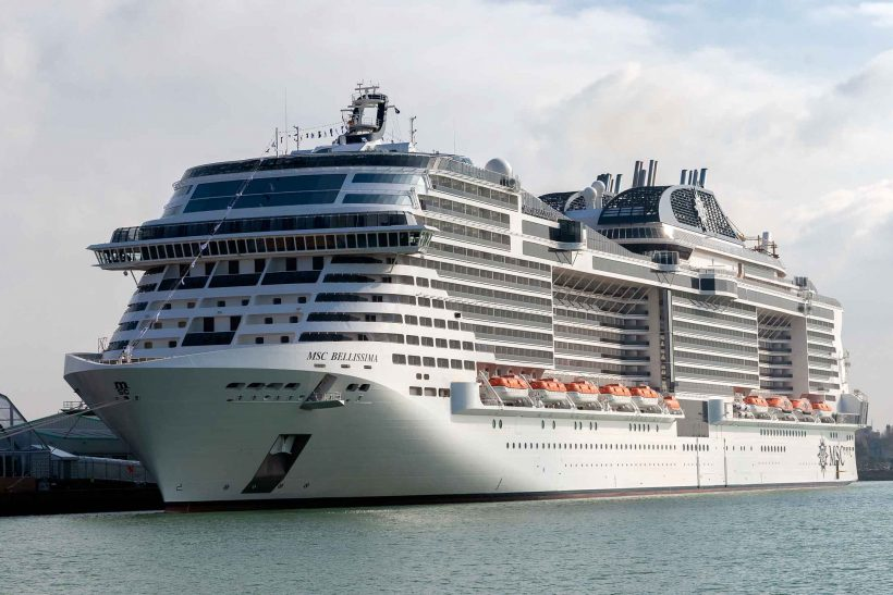 MSC Cruises and Chantiers de L'atlantique launch MSC Bellissima