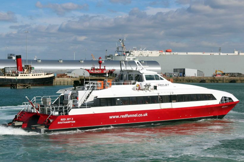 Red Funnel's Red Jet 3 sold to Croatian ferry company