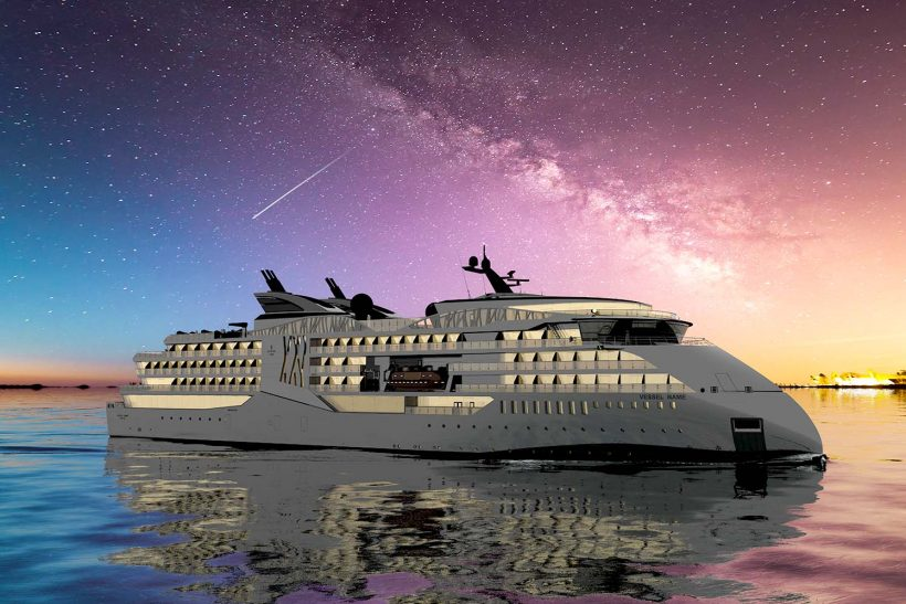 Ulstein promotes its cruise design