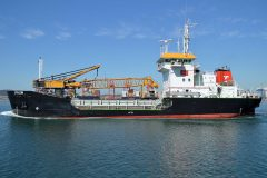 Maintenance Dredging at Duncan Dock in the Port of Cape Town