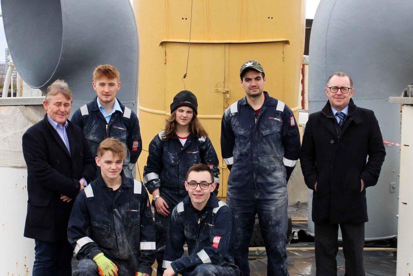 CalMac apprentices move Queen Mary restoration forward