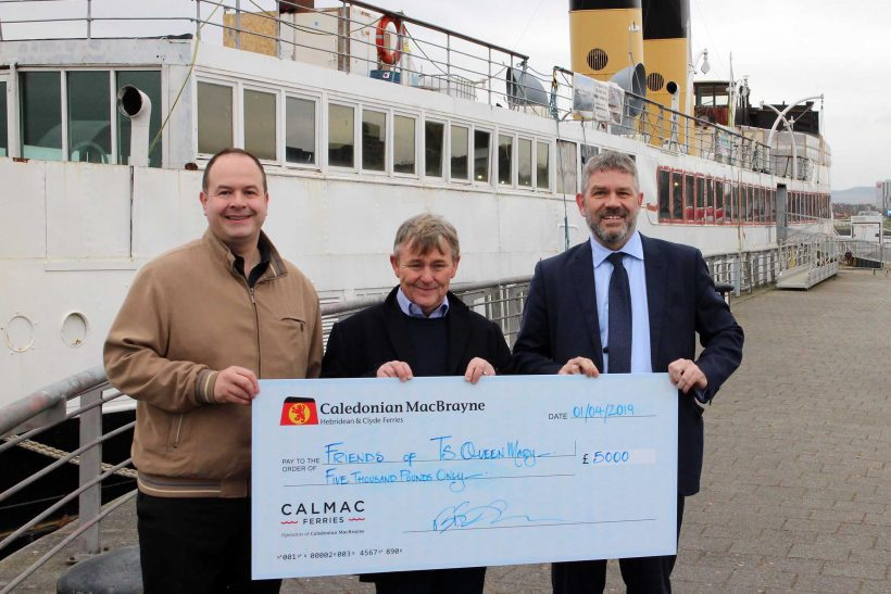 CalMac ensures Queen Mary flies the flag again