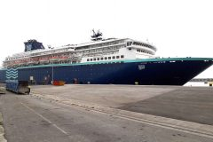Inaugural call by cruise ship Zenith at Portland