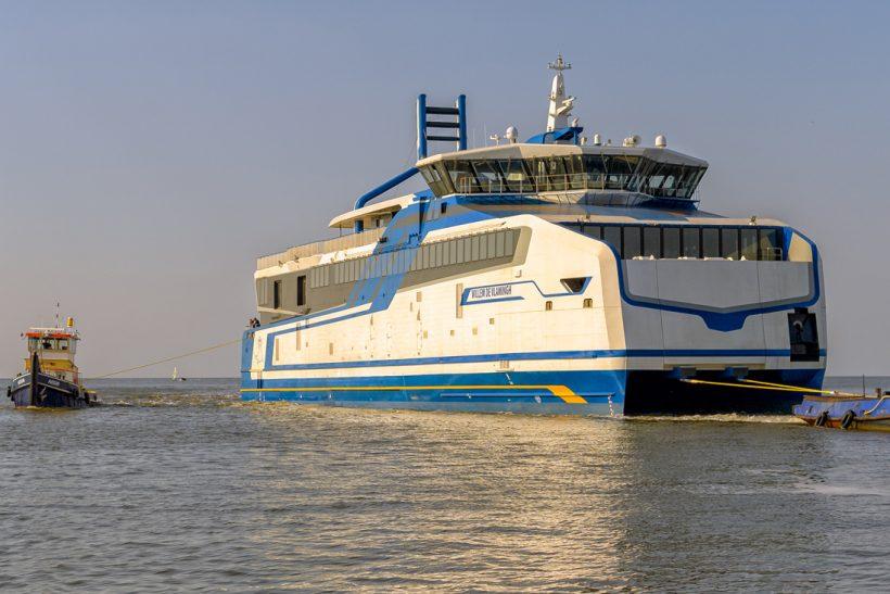 New LNG catamarans Doeksen arrived in Harlingen