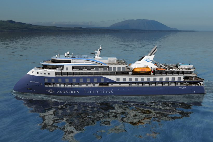 Albatros Expeditions reveals second newbuild for Arctic and Antarctica