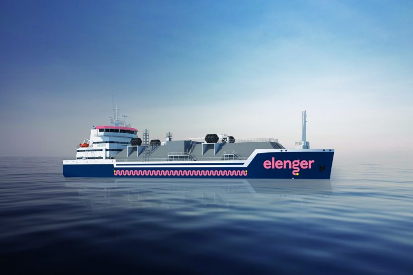 Keel-laying at Damen Yichang Shipyard for new LNG tanker