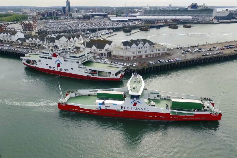 Red Kestrel enters service with first freight cargo