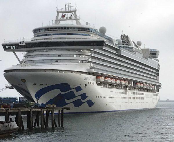 Portland Port welcomes Crown Princess