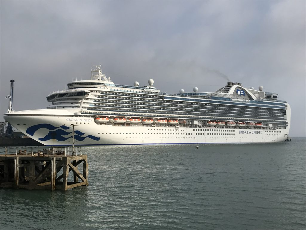Portland Port welcomes Crown Princess | Ships Monthly
