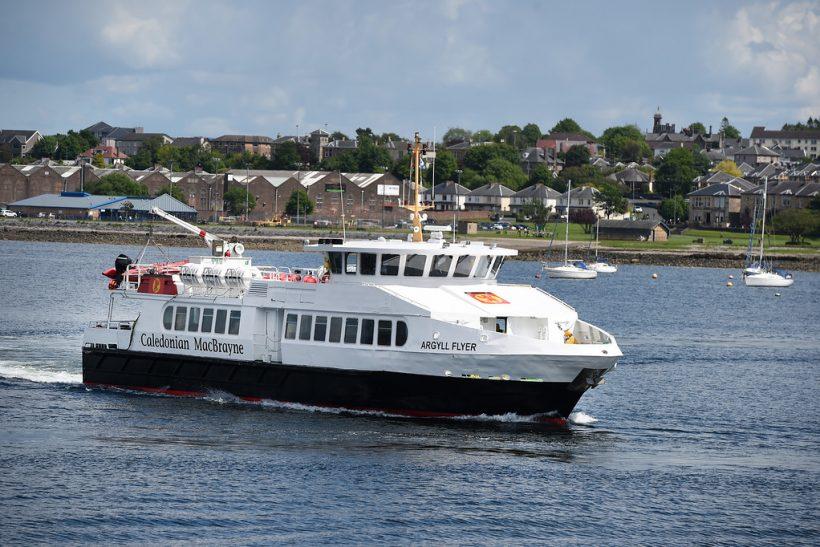New look for MV Argyll Flyer
