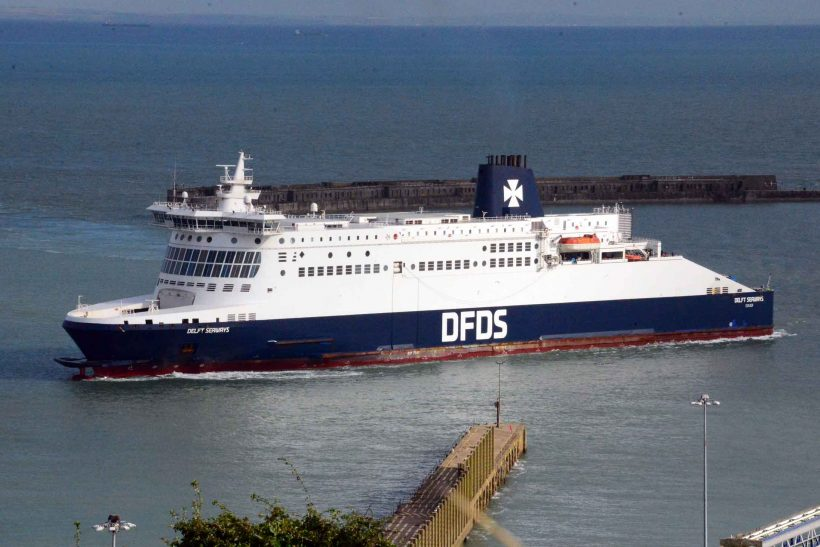 DFDS named Europe's Leading Ferry Operator for 8th consecutive year