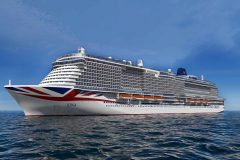 P&O Cruises celebrates build milestone for Britain's newest cruise ship
