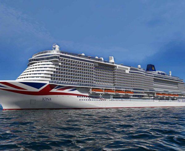 P&O Cruises celebrates build milestone for Britain's newest cruise ship