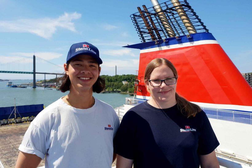 Stena Line's Able Seamen Volunteer for Mercy Ships