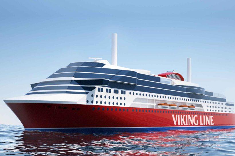 Viking Glory keel laying ceremony