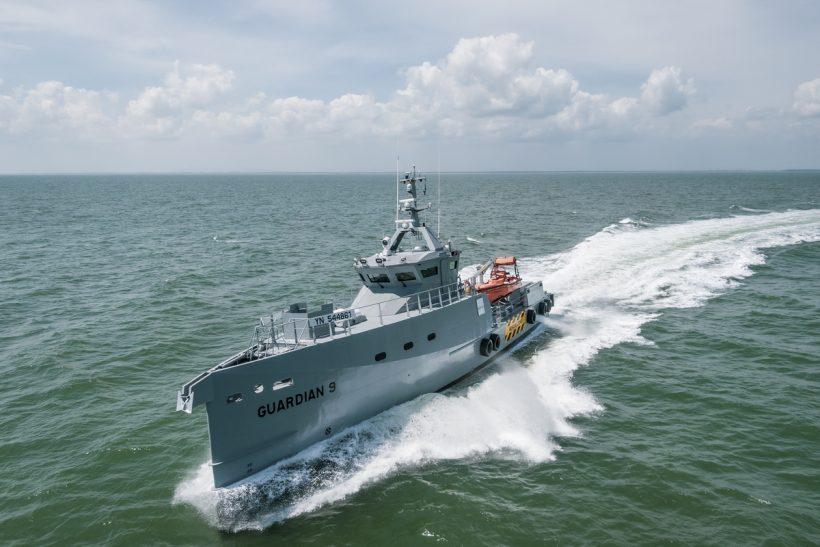 Damen patrol vessels delivered to Nigeria