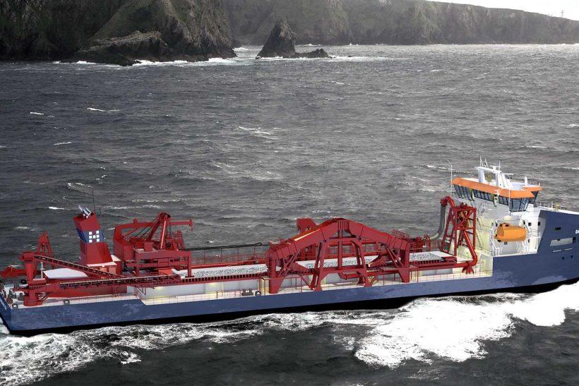 New environmentally sustainable hopper dredger