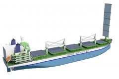 New Bulk Carrier design to meet environmental targets