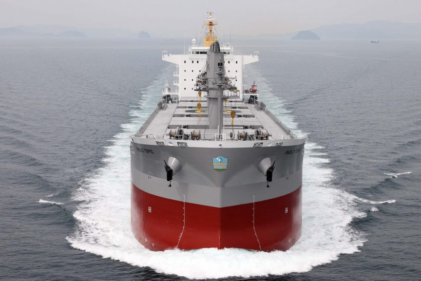 Wärtsilä's hybrid solution for bulk carriers
