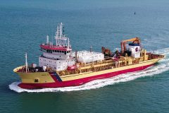 First European Dredger Conversion to Dual-Fuel Operation Delivered