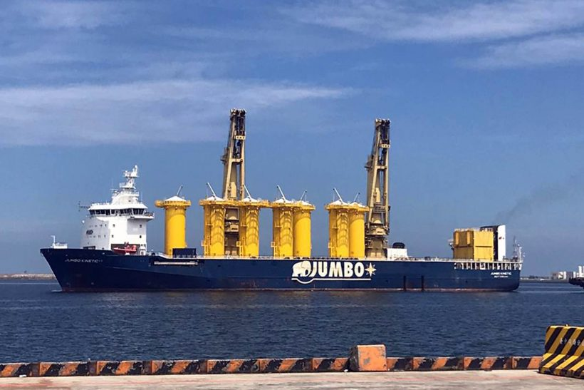 Jumbo ships to first offshore windfarm in Taiwan
