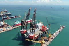 Sembcorp Marine completes world's biggest and strongest semi-submersible crane vessel