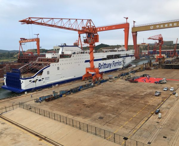 Double-celebration for new Brittany Ferries ships