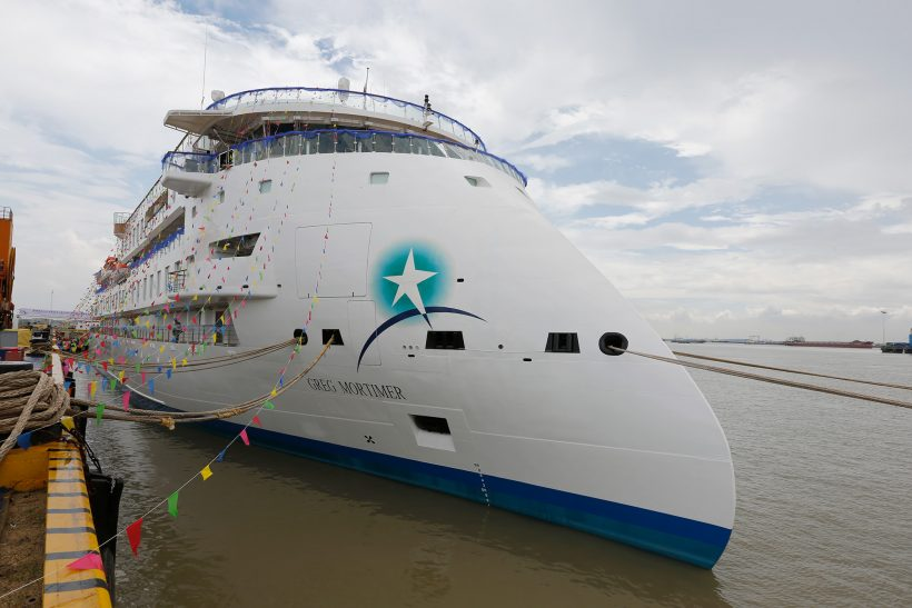 First X-BOW polar vessel named and delivered