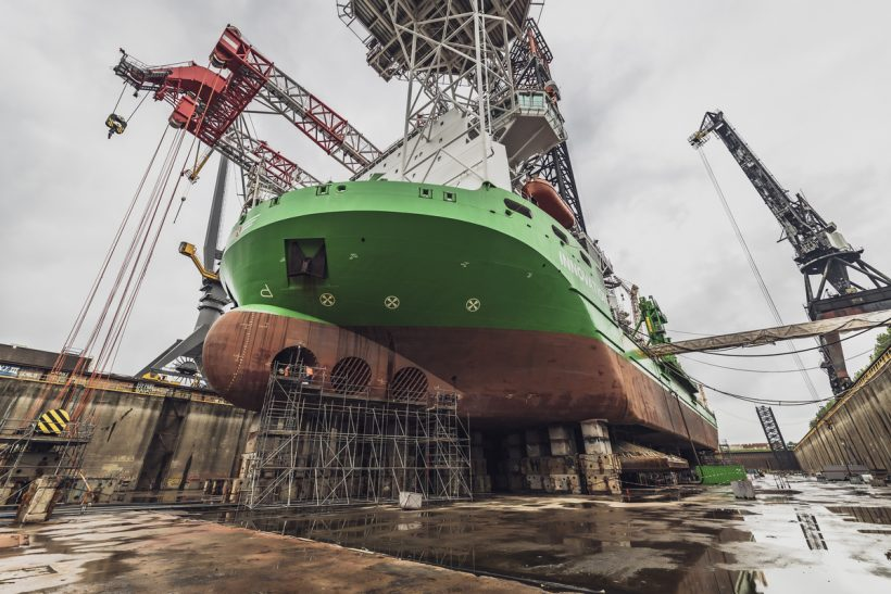 Damen completes maintenance work on Innovation