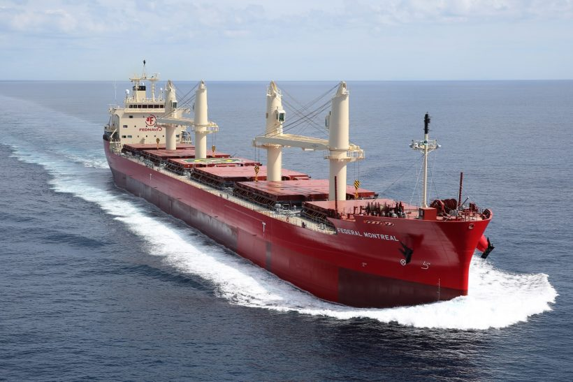 Delivery of bulk carrier Federal Montreal by Oshima Shipbuilding