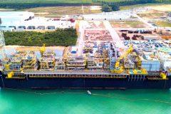 Sembcorp Marine's Brazilian shipyard completes Petrobras FPSO