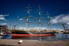 Stad Amsterdam arrives in Den Helder for maintenance