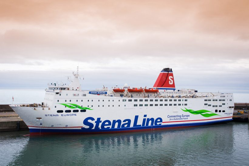 Stena Europe returns to scheduled services on Rosslare-Fishguard