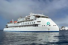 Positive feedback from first X-BOW expedition cruise vessel